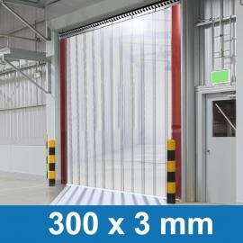 PVC Streifenvorhang 1,00m Breite