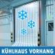 PVC Kühlhaus Vorhang Kühlzelle Kühlraum