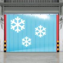 PVC Kühlhaus Vorhang