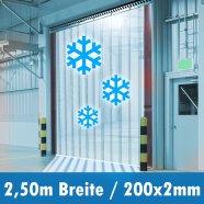 Tiefkühl Vorhang weich PVC
