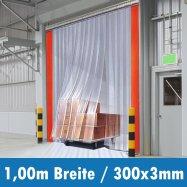 PVC Streifen 300x3mm 1,00m Breite