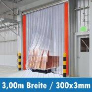 PVC Streifenvorhang 300x3mm 3,00m
