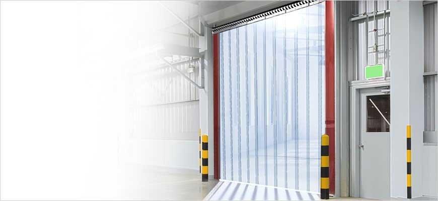 Streifenvorhang für Industrie, Handwerk, Logistik, Pferdestall oder Gewerbe!