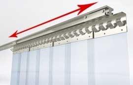 PVC Schiebevorhang